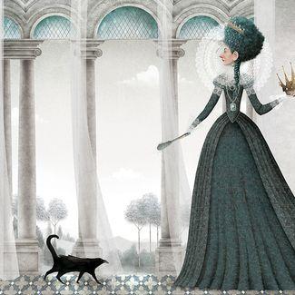 """Blancanieves"" - Illustrations by Iban Barrenetxea"