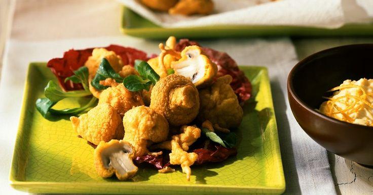 Gebackene Champignons mit Salat ist ein Rezept mit frischen Zutaten aus der Kategorie Dips. Probieren Sie dieses und weitere Rezepte von EAT SMARTER!
