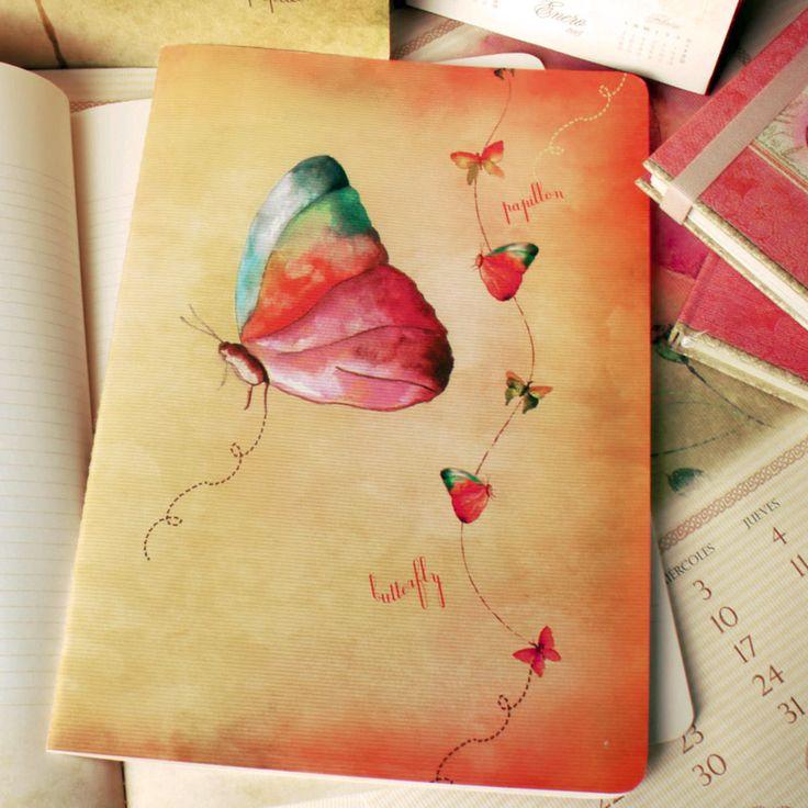 Cuaderno Tapa Blanda Grande