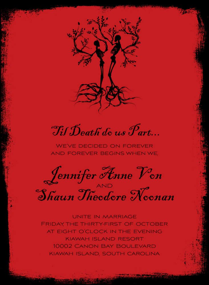 102 best halloween wedding invitations stationary With buy halloween wedding invitations