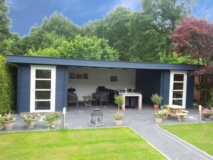 25 beste idee n over achtertuin luifel op pinterest dek luifel kleine achtertuin tuinieren - Pergola dak platte ...