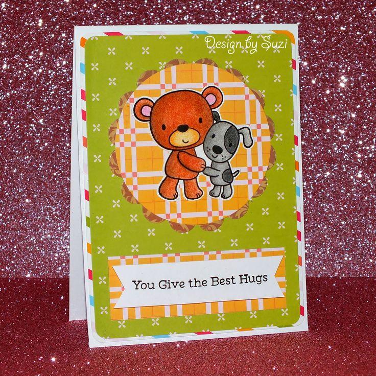 The Best Hugs Card