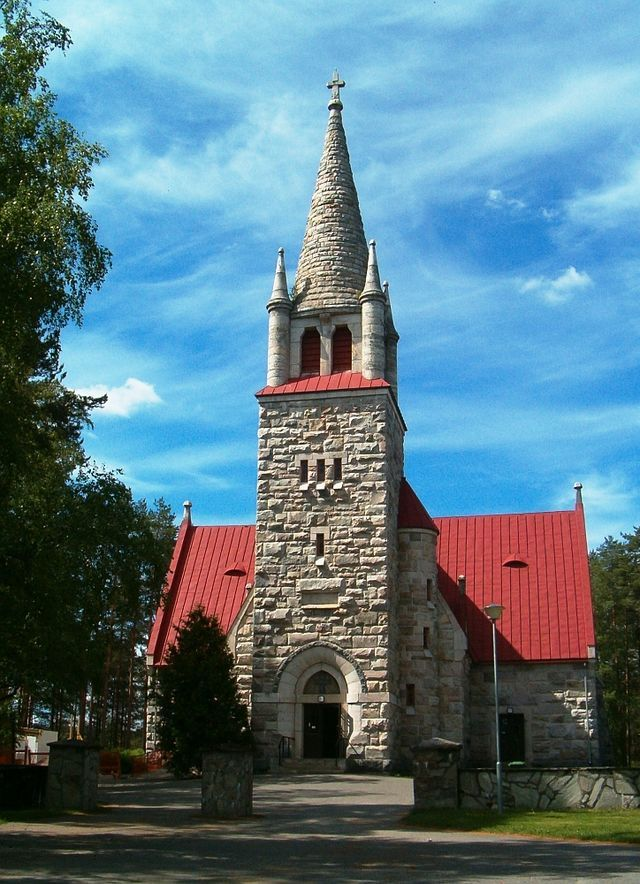 Church of Nilsiä Finland