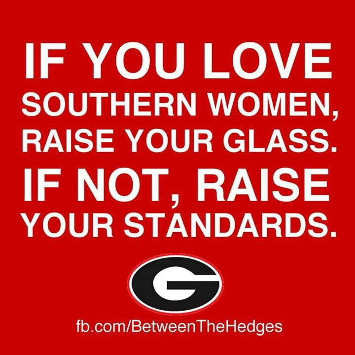 Georgia Bulldogs, favorite College football team.