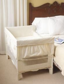 Sarah Gilbert, check these out...best thing ever if you plan on breastfeeding.Arms Reach Universal Co-Sleeper Bedside Cot.