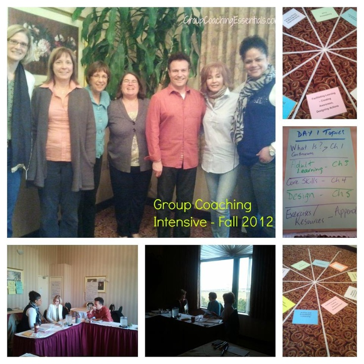 Group Coaching Intensive - November 2012 in Toronto, Canada from Jennifer Britton and GroupCoachingEssentials.com