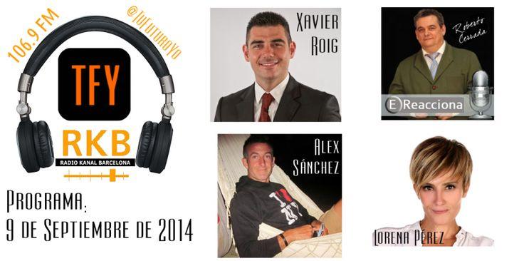 Programa radio 09/09/2014 #unpasomas