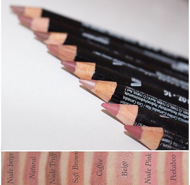 Nyx lip liners                                                                                                                                                                                 More