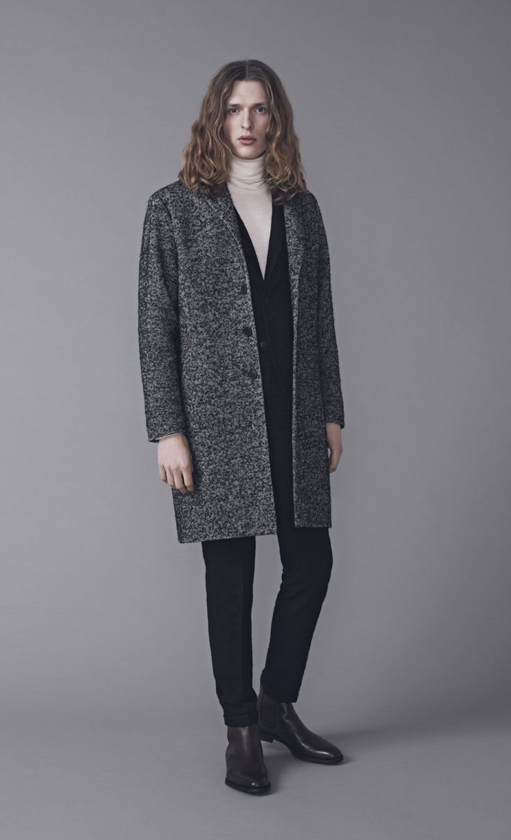 Pontus Coat, Papa Blazer, Walt Polo and Presley Trousers | Samuji Man FW15 Collection