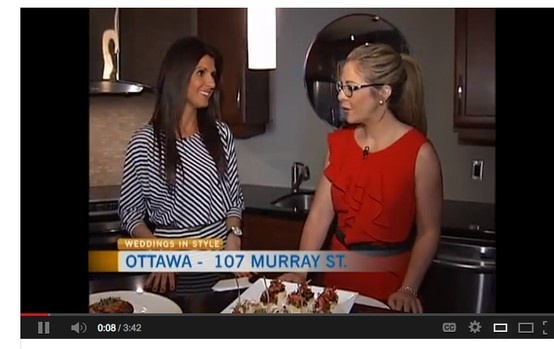 Amanda O'Reilly talk catering. Weddings InStyle On CTV Morning!! What Weddings InStyle looks for in a cater.  www.weddingsinstyle.ca www.facebook.com/weddingsinstyle