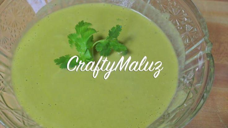 ♥ Salsa Verde Cremosa de Jalapeños (Salsa Picante)