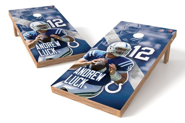 Andrew Luck NFL Cornhole Board Set (Indianapolis Colts)