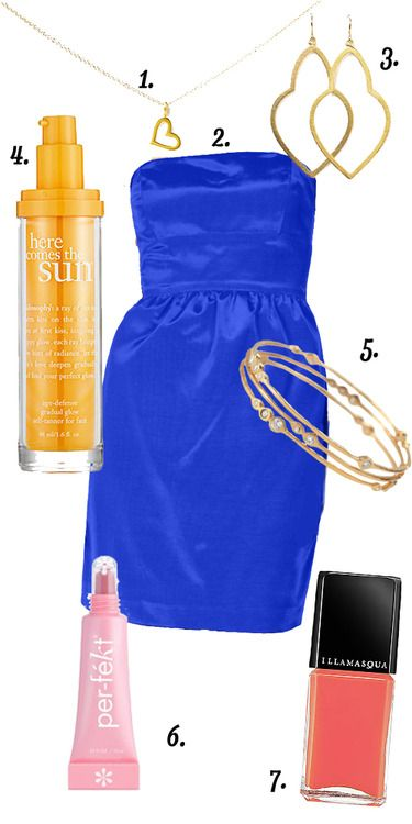 The Electric Blue Bridesmaid Dress http://blog.birchbox.com/post/39787606905/the-electric-blue-bridesmaid-dress-guest-blogger