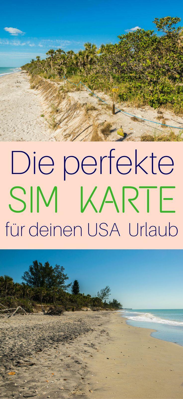 Die Perfekte Sim Karte Fur Deinen Usa Urlaub Amerika Reisen Usa