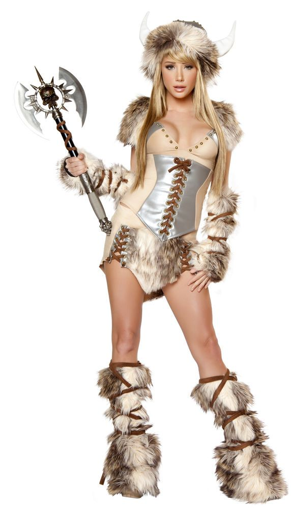 J Valentine Womens Viking Halloween Costume Complete Set USA QUALITY AUTHENTIC #JValentine #CompleteCostume