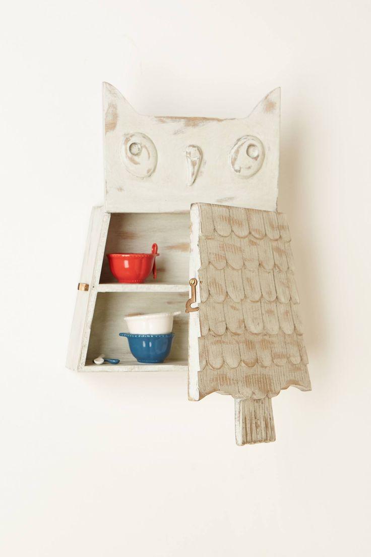 Owl Brooch Cabinet