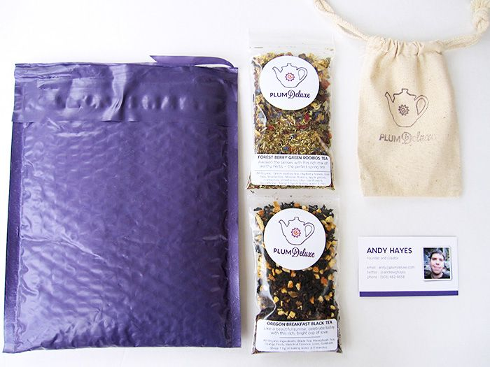 Tea membership. one oz. of new flavor mailed right to your door. splendid.
