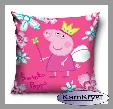 Pillow - pillow children with Peppa Pig KamKryst | Poduszka - jasiek dziecięcy ze Świnką Peppa KamKryst #peppa #peppa_pig