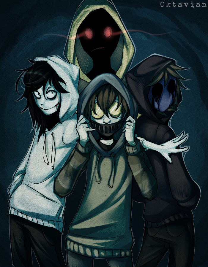 The hoodie squad | Creepypasta, Marble Hornets and Horror ...