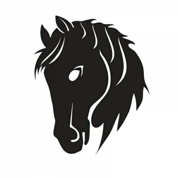 Horse siluet