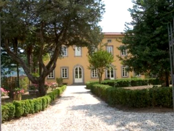 View of the beautiful villa.....