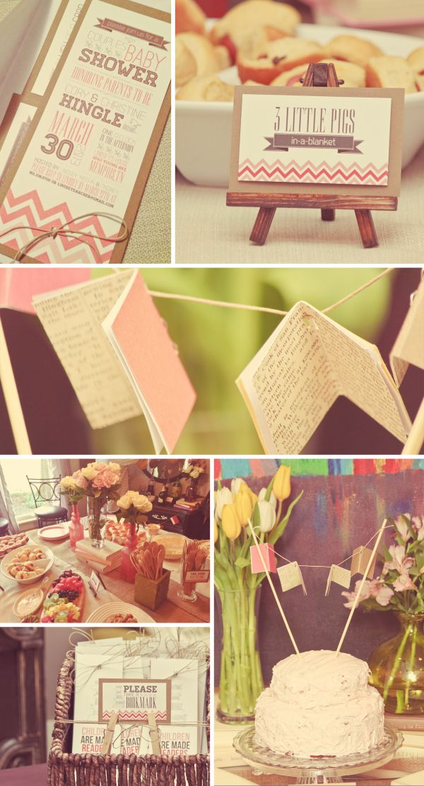 Baby Showers Reading ~ Book themed baby shower she loves to read and i know