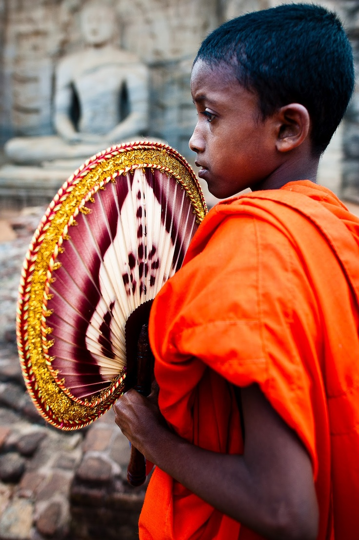 #Young Monk, Sri Lanka  # We cover the world over 220 countries, 26 languages and 120 currencies Hotel and Flight deals.guarantee the best price multicityworldtravel.com