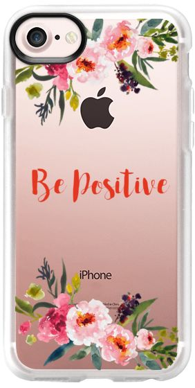 Casetify iPhone 7 Classic Grip Case - Floral case by Priyanka Chanda