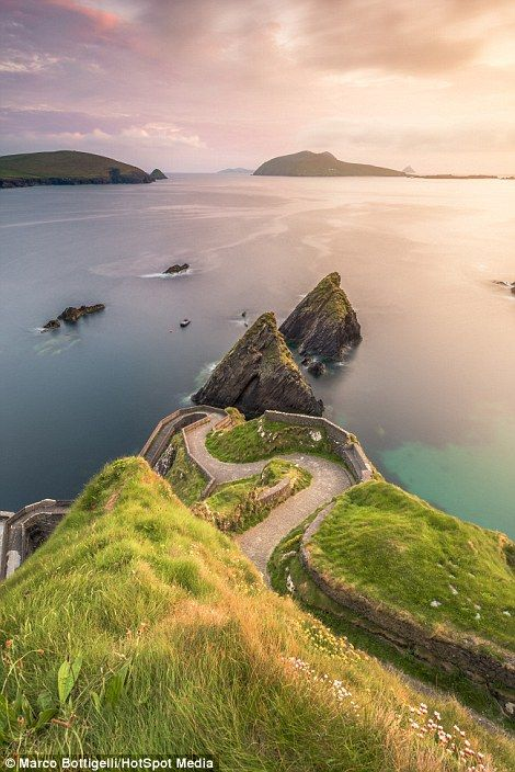 'Before I travelled to Ireland, I made a list of the best spots to visit. Sometimes I can ...