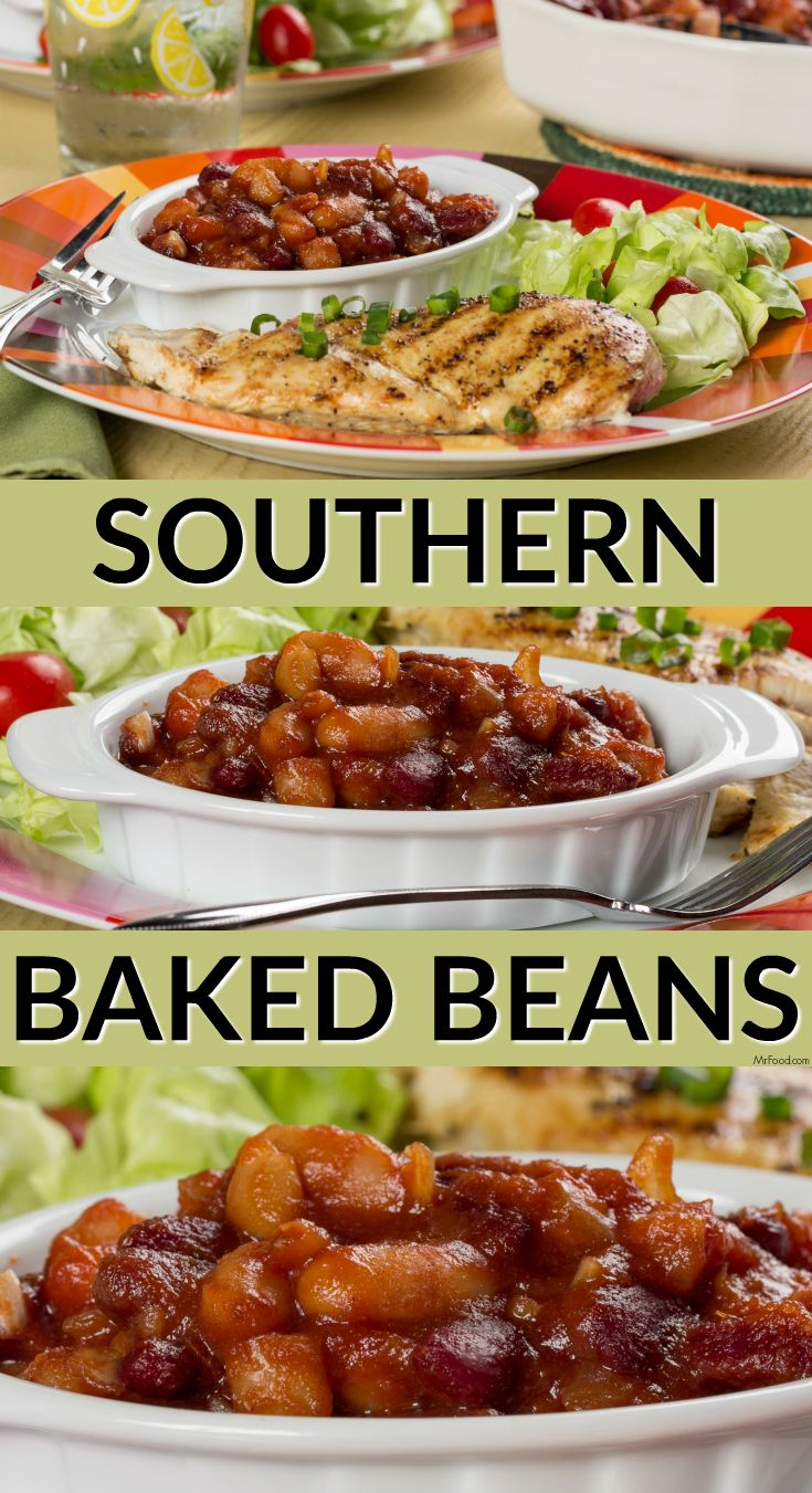 Our Southern Baked Beans are made with two kinds of beans and are ...