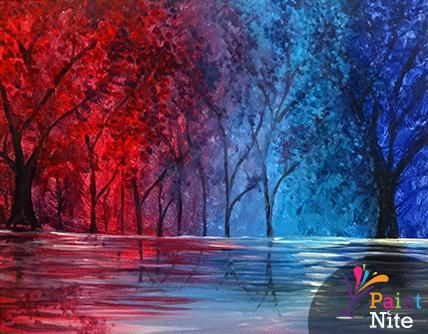 Paint Nite Pittsburgh | Colorful Soul at Level 20 Lounge Pittsburgh Paint Nite 01/06/2015