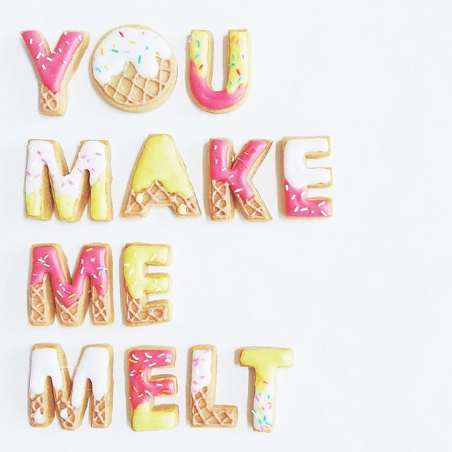 Meet cookie genius, Vickie Liu via the Craft Hunter blog  ||  You make me melt  by Vickie Liu