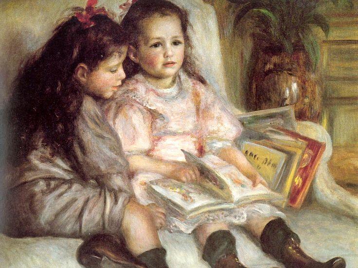 """""""Les enfants de Caillebotte"""" (Caillebotte's Children, Auguste Renoir, 1895   /   el"""