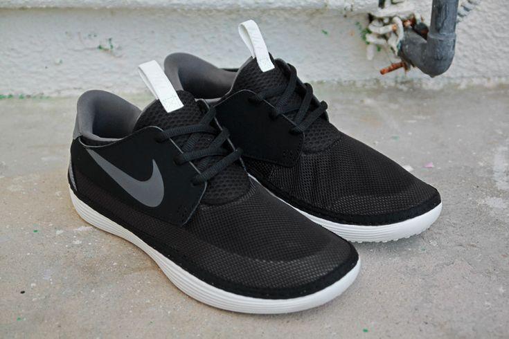 Black Mesh Nike Maccasin