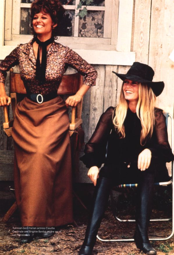 bridget bardot shalako | Brigitte Bardot in Les Petroleuses.
