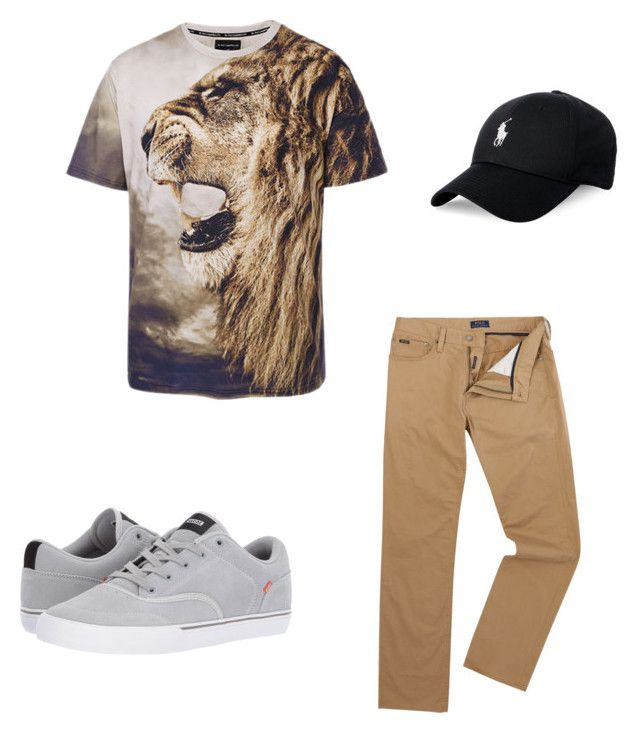 """man style"" by tereza17-novakova17 on Polyvore featuring Polo Ralph Lauren, Globe, men's fashion and menswear"
