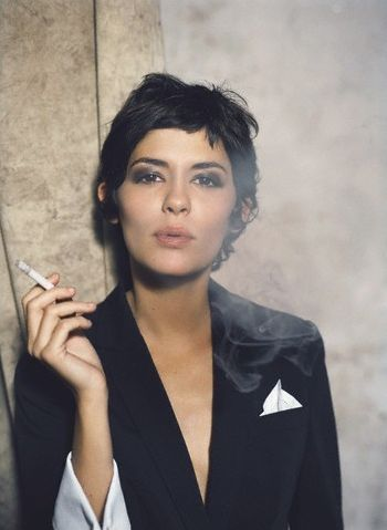 "Audrey Tautou. My favorite French actress. Her role in ""Amelie"" is brilliant."