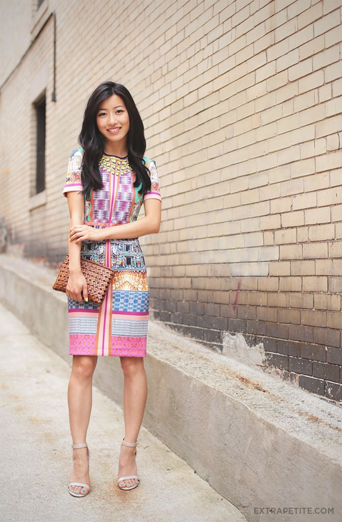 Petite-friendly statement dresses: Clover Canyon (Taj Mahal)