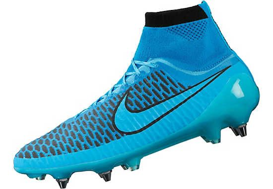 Get yours from SoccerPro. Nike Magista Obra SG-Pro Soccer Cleats - Blue and Black