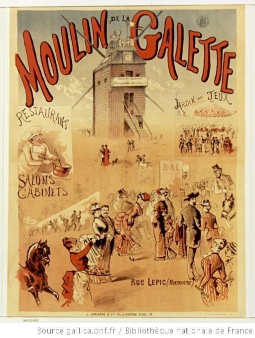 Moulin de la galette restaurant moulin de la galette for Salon vintage lorient
