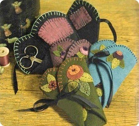 Organizador de costuras #sew #pincushion #tutorial #diy