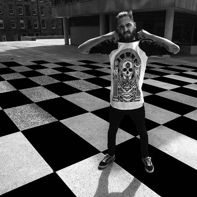 """Kultus Xronos"" Raglan Tee Available at www.crmc-clothing.co.uk | WE SHIP WORLDWIDE Model - Jordan Thomas Photography - JT Photography #raglan #symbology #baseballtee #pentagram #occult #altfashion #alternative #saturnworship #fashionstatement #saturnalia #fashionista #freemason #freemasonry #fashionoftheday #saturnian #grungefashion #grunge #styles #style #alternativeguy #alternativeboy #alternativegirl #alternativeteen #saturn #Kronos #love #chronos #picoftheday #fashion #fashion blog"