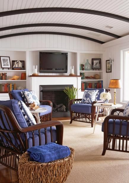 63 best images about lake house renovation ideas on for Casual family room ideas