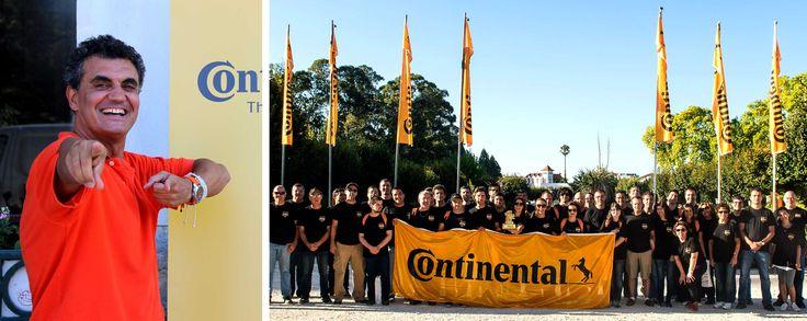 A Continental Pneus esteve com a Team Building num dia repleto de boas energias! Um grupo excecional, líder mundial!