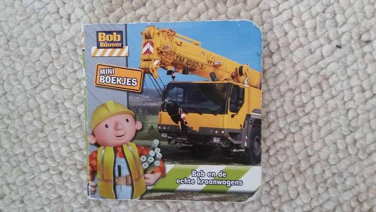 Mini Bob de Bouwer boekje - harde kaft.