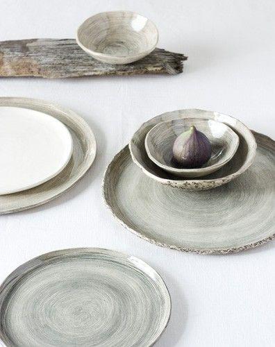 ♥Ceramics Plates, Rustic Ceramics, Wabi Sabi, Wabisabi, Pia Jane, Nature Colors, Industrial Design, Life Photography, Rustic Wood