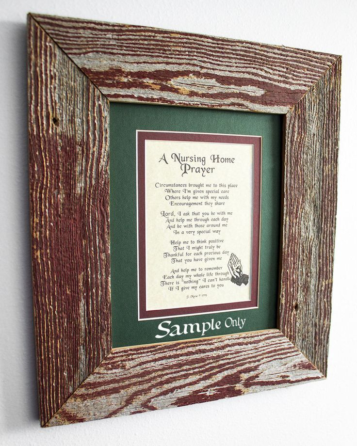 "8.5"" x 11 Inch Authentic Barn Wood Frame, Old BarnWood, Recycled RePurposed UpCycled Reclaimed, Vintage Farmhouse Frames Naturally Seasoned!  This would make an OUTSTANDING holiday gift for a loved one that is living in a nursing home locally or far away. Shoot me a message if I can answer any questions, or just click on the image to be taken to my Etsy store!"