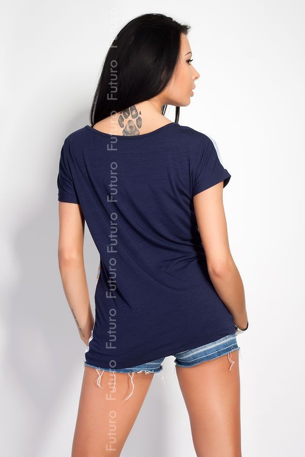 Women/'s Top YOU CANNOT DESTROY ME Print Boat Neck Short Sleeve T-Shirt FN08