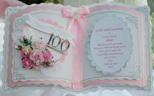 BOOKATRIX PERSONALISED CARD 40TH 50TH 60TH 70TH 80TH 90TH 100TH | eBay