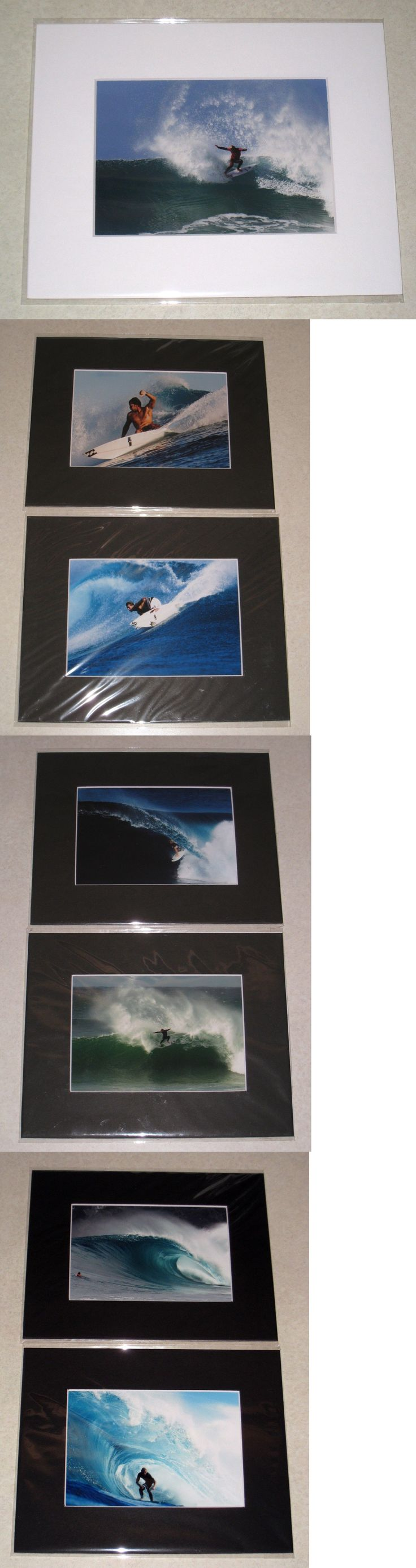 Posters and Prints 58135: John John Florence Small Matted Prints With Extras By Pete Frieden -> BUY IT NOW ONLY: $70 on eBay!